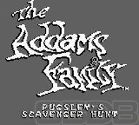 The Game Boy Database - Addams Family, The: Pugsley's Scavenger Hunt