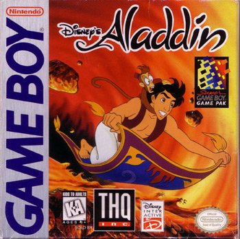 The Game Boy Database - Aladdin, Disney's