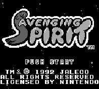 The Game Boy Database - Avenging Spirit