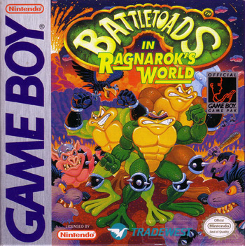 The Game Boy Database - Battletoads in Ragnarok's World