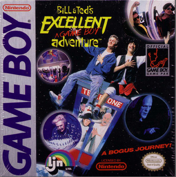 The Game Boy Database - Bill & Ted's Excellent Game Boy Adventure