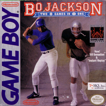 The Game Boy Database - Bo Jackson: Two Games in One