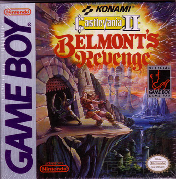 The Game Boy Database - Castlevania II: Belmont's Revenge