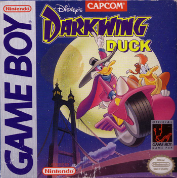The Game Boy Database - Darkwing Duck, Disney's