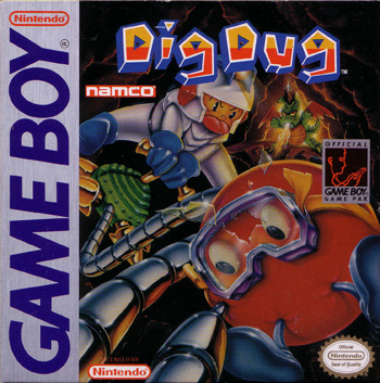 The Game Boy Database - Dig Dug