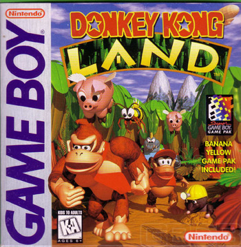 The Game Boy Database - Donkey Kong Land