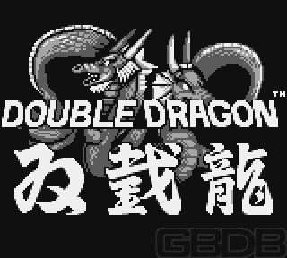 The Game Boy Database - Double Dragon