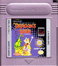 The Game Boy Database - Dragon's Lair: The Legend
