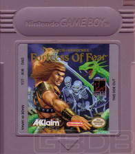 The Game Boy Database - Fortress Of Fear, Wizards & Warriors X