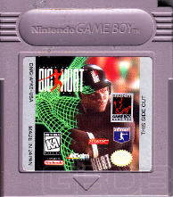 The Game Boy Database - Frank Thomas Big Hurt Baseball