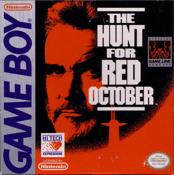 The Game Boy Database - Hunt For Red October, The