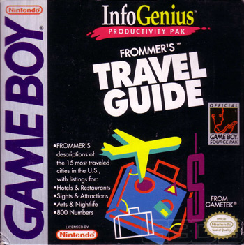 The Game Boy Database - Infogenius Productivity Pak: 
