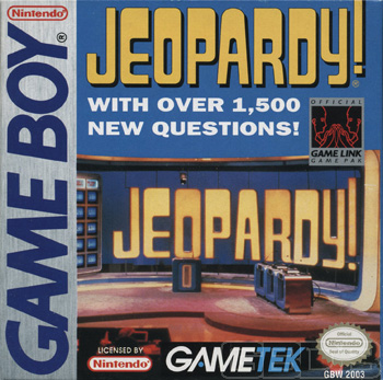 The Game Boy Database - Jeopardy!