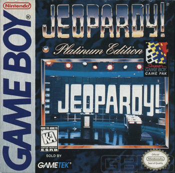 The Game Boy Database - Jeopardy! Platinum Edition