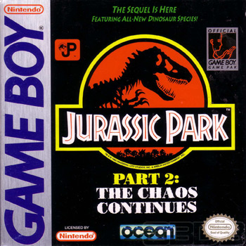 The Game Boy Database - Jurassic Park Part 2: The Chaos Continues