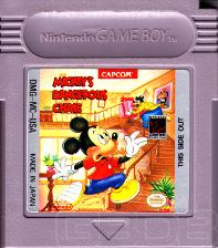 The Game Boy Database - Mickey's Dangerous Chase
