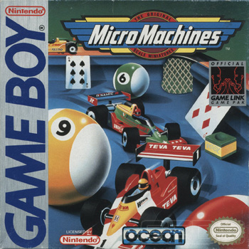 The Game Boy Database - Micro Machines