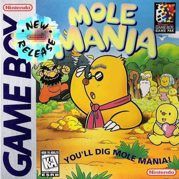 The Game Boy Database - Mole Mania