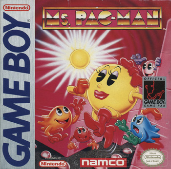 The Game Boy Database - Ms. Pac-Man