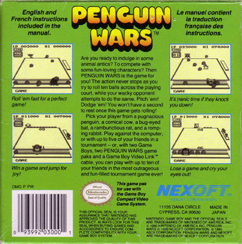 The Game Boy Database - penguin_wars_12_box_back.jpg