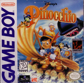 The Game Boy Database - Pinocchio, Disney's