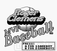 The Game Boy Database - Roger Clemens' MVP Baseball