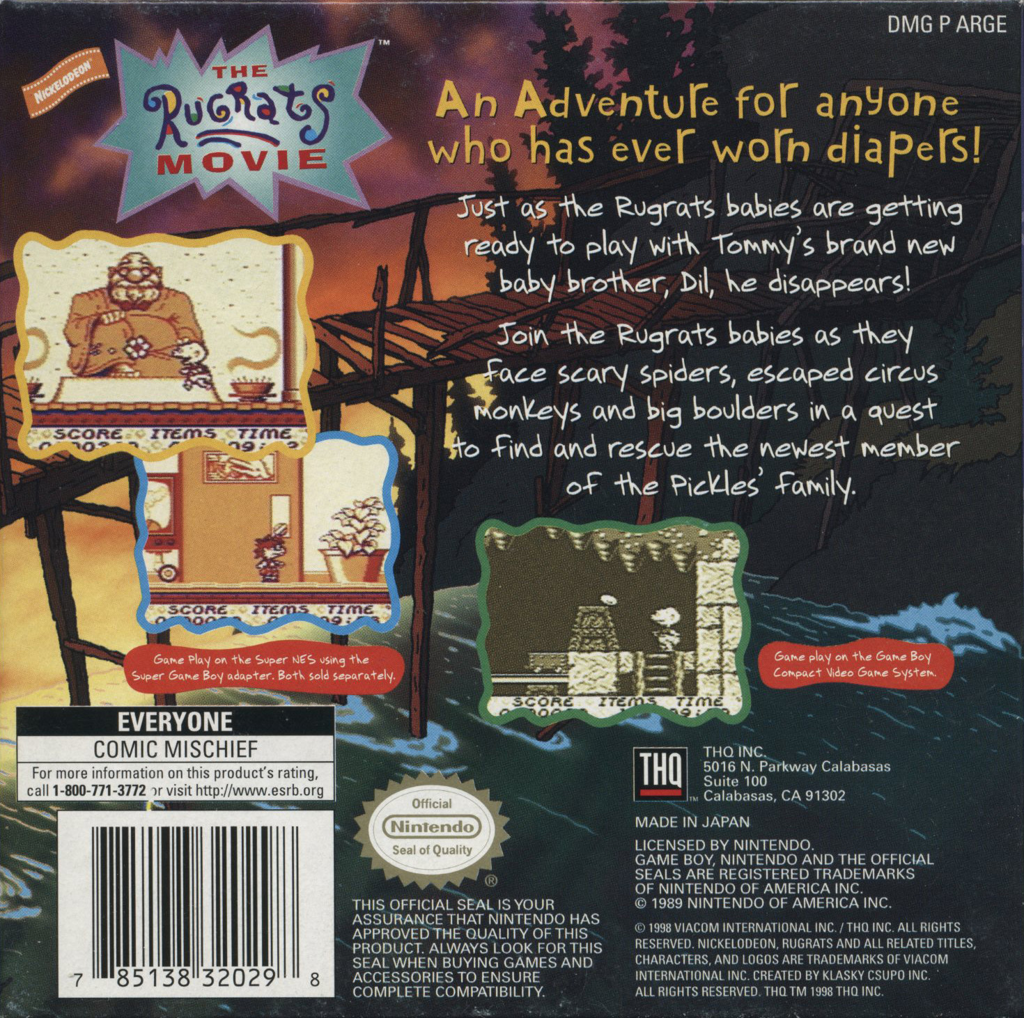 The Game Boy Database - rugrats_12_box_back.jpg
