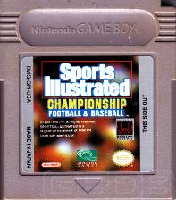 The Game Boy Database - Sports Illustrated Championship Football & Baseball