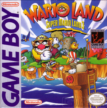 The Game Boy Database - Super Mario Land 3: Wario Land