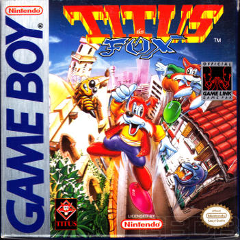The Game Boy Database - Titus the Fox