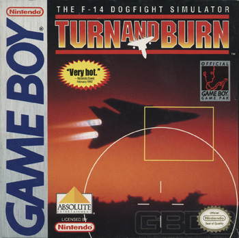Game review on the Gameboy game Turn And Burn
