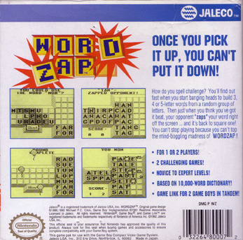 The Game Boy Database - word_zap_12_box_back.jpg
