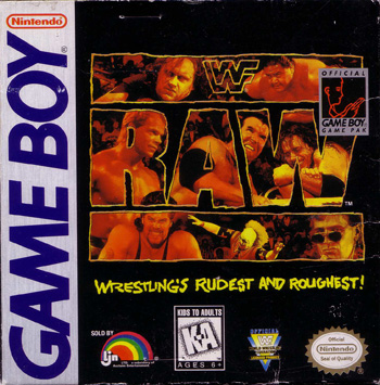 The Game Boy Database - WWF Raw