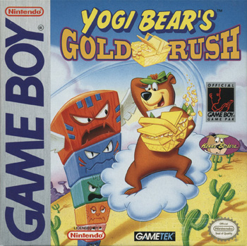 The Game Boy Database - Yogi Bear in Yogi Bear's Gold Rush